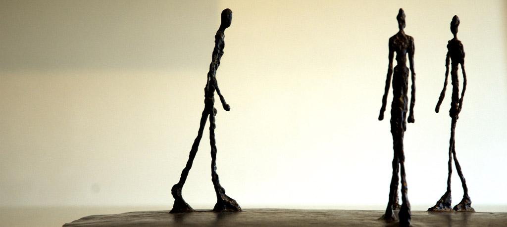 L'homme qui marche de Giacometti